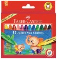 Crayons à cire Faber-Castell.